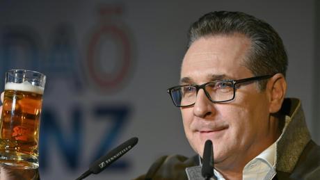 Heinz-Christian Strache will Bürgermeister in Wien werden.