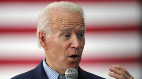 Biden war als Hoffnungsträger ins Rennen um die Präsidentschaftskandidatur der Demokraten gestartet, hat sich bei den bisherigen Vorwahlen aber nicht durchsetzen können.