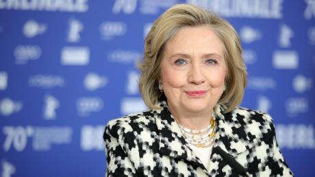 Hillary Clinton zu Gast auf der Berlinale, bei der auch eine Film-Dokumentation über die Ex-Präsidenten-Gattin und Ex-US-Außenministerin vorgestellt wurde.