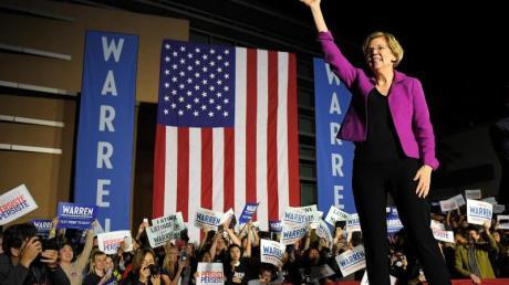 Elizabeth Warren hat ihre Kandidatur zurückgezogen.