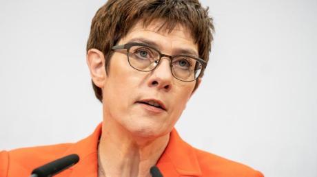 Verteidigungsministerin Annegret Kramp-Karrenbauer (CDU).