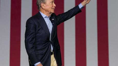 Mike Bloomberg, demokratischer Bewerber um die Präsidentschaftskandidatur, steigt aus dem Rennen aus.