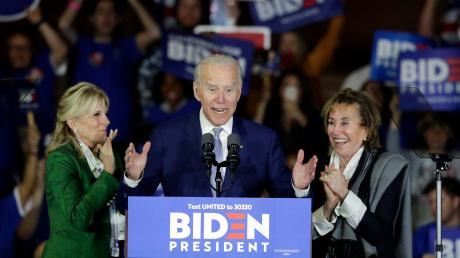 Joe Biden ist zurück im Rennen: Beim sogenannten Super Tuesday hat er die Nominierung in den meisten Staaten gewonnen.