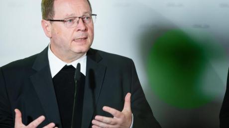 Bischof Georg Bätzing: «Nehmen unsere institutionelle Verantwortung noch einmal deutlicher wahr.».