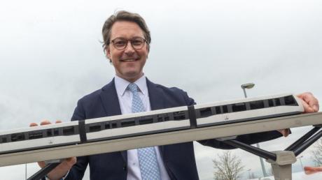 Bundesverkehrsminister Andreas Scheuer will ein «Deutsches Zentrum Mobilität der Zukunft» in München ansiedeln.