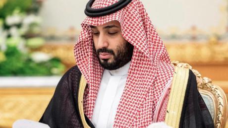 Mohammed bin Salman soll für den Einsatz verantwortlich sein, bei dem im Oktober 2018 der Journalist Jamal Khashoggi getötet wurde.