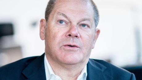Vizekanzler Olaf Scholz: «Es spricht vieles dafür, die Kanzlerkandidatur der SPD noch in diesem Jahr zu klären.».