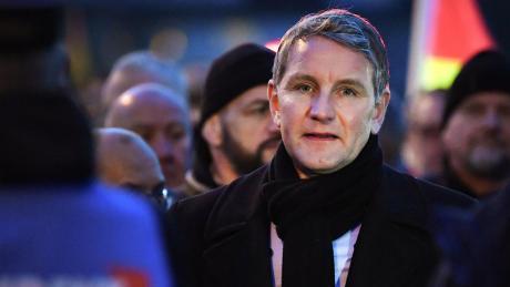 """Er gilt als einer der führenden Vertreter und Wortführer des """"Flügels"""" der AfD: Björn Höcke, Landesvorsitzender in Thüringen. Nun wird die Gruppierung vom Verfassungsschutz beobachtet."""