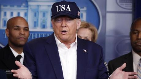 US-Präsident Trump ist laut einer Pressemitteilung des Weißen Hauses negativ auf das Coronavirus getestet worden. Er hatte zuvor Kontakt zu Corona-infizierten Mitgliedern einer brasilianischen Delegation.