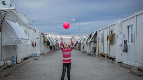 EinFlüchtlingslager in der Türkei.