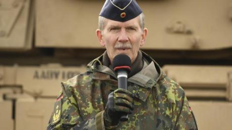 General Martin Schelleis, Inspekteur der Streitkräftebasis der Bundeswehr.