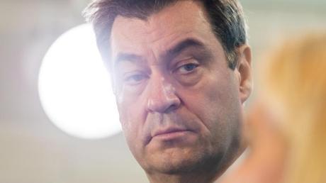 Bundesfinanzminister Olaf Scholz und der bayerische Ministerpräsident Markus Söder (Bild) haben über Maßnahmen in der Corona-Krise gesprochen.