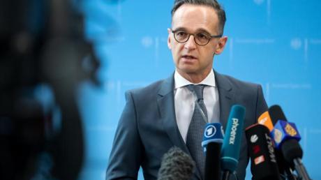 Außenminister Heiko Maas (SPD) berät am Montag mit seinen EU-Amtskollegen in einer Videokonferenz über die Rückholung von EU-Bürgern aus dem europäischen Ausland.