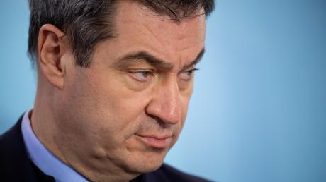 Hatte mit Armin Laschet einen heftigen Disput: Bayerns Ministerpräsident Markus Söder.