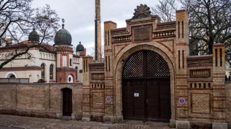 Die Synagoge in Halle/Saale.