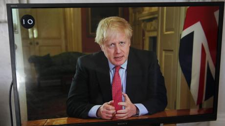 Kann er in der Krise führen? Großbritanniens Premier Boris Johnson bei einer TV-Ansprache.