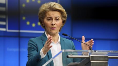 """""""Gemeinsam ist Europa stärker."""" Mit diesen Worten bemüht sich EU-Kommissionspräsidentin Ursula von der Leyen, die nationalstaatlichen Egoismen in der Corona-Pandemie wieder einzufangen."""