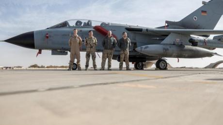 Der Einsatz von Tornado-Aufklärern von Jordanien aus wird beendet.
