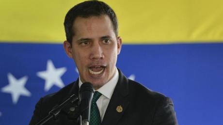 Venezuela klagt Oppositionsführer Juan Guaidó an.