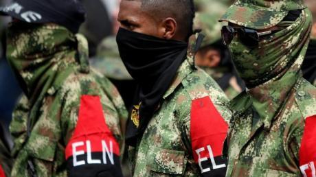 Rebellen der kolumbianischen Guerillagruppe ELN.