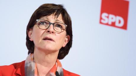 Saskia Esken, Bundesvorsitzende der SPD, stellt eine einmalige Vermögensabgabe zur Finanzierung der Corona-Krise zur Diskussion.