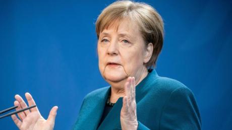 Bundeskanzlerin Angela Merkel (CDU), spricht über weitere Maßnahmen gegen die Ausbreitung des Coronavirus.