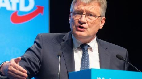 Der AfD-Vorsitzende Jörg Meuthen denkt laut über eine Aufspaltung der Rechtspopulisten nach.