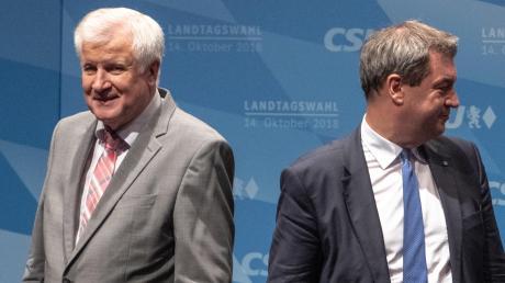 So kannte man Horst Seehofer und Markus Söder in der jüngeren Vergangenheit: voneinander abgewandt. Aber in der Beurteilung der aktuellen Lage in der Coronakrise sind sie sich (wieder) viel näher.