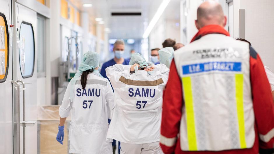 Auch ausländische Corona-Patienten werden derzeit auf deutschen Intensivstationen behandelt.
