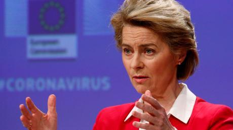 Ursula von der Leyen, Präsidentin der Europäischen Kommission, will die wirtschaftlichen Auswirkungen der Corona-Krise abfedern.