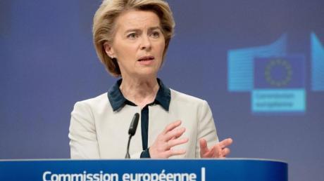 EU-Kommissionspräsidentin Ursula von der Leyen hat sich für einen europäischen «Marshall-Plan» nach historischem Vorbild ausgesprochen.
