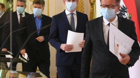 Pressekonferenz mit Sebastian Kurz: Österreich wird nach Ostern wohl mit dem Weg zurück in die Normalität beginnen.