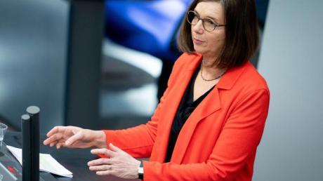 Krise in der Krise: Grünen-Fraktionschefin Katrin Göring-Eckardt findet es «unverantwortlich, dass innerhalb der Union die CSU jede Lösung blockiert».