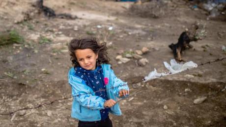 Augsburg will Kinder aus den Flüchtlingslagern aufnehmen.