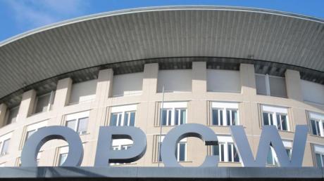 Der Sitz der Organisation für das Verbot chemischer Waffen (OPCW) in Den Haag.