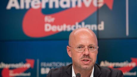 Andreas Kalbitz, Fraktionsvorsitzender der Brandenburger AfD, gilt neben Björn Höcke als wichtigster Vertreter des rechtsnationalen «Flügels».