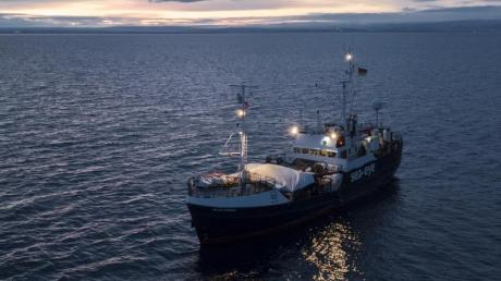 Das deutsche Rettungsschiff «Alan Kurdi».