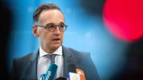 Bundesaußenminister Heiko Maas sieht das Handelsabkommen mit Großbritannien in Gefahr.