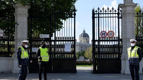 Auch die berühmten Wiener Bundesgärten öffneten am Dienstag wieder ihre Tore.