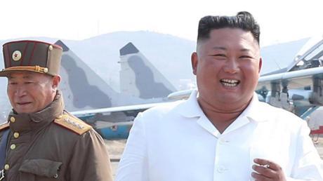 Von der Bildfläche verschwunden: Diktator Kim Jong Un.