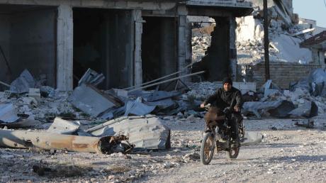 In Idlib setzte die Türkei erstmals ihre modernen Kampfdrohnen ein.