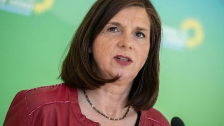 Katrin Göring-Eckardt, Fraktionsvorsitzende von Bündnis 90/Die Grünen im Bundestag.