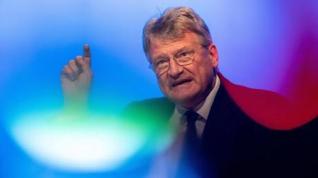 Jörg Meuthen im vergangenen Jahr während einer Wahlkampfveranstaltung der AfD.