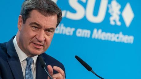 Markus Söder fordert ein Konjunkturpaket - und Steuererleichterungen im Kampf gegen die Wirtschaftskrise.