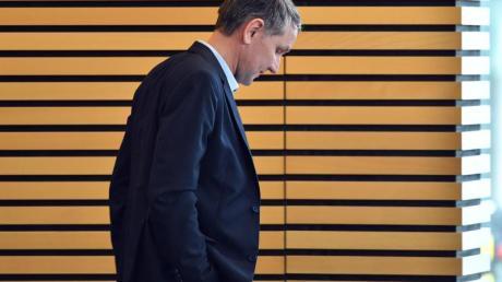 Björn Höcke Anfang März im Plenarsaal des Thüringer Landtages inErfurt.