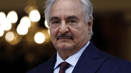 Mächtige Figur im Machtkampf in Libyien: General Chalifa Haftar.