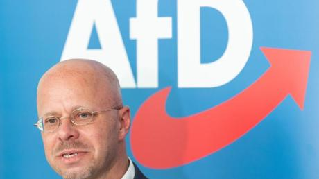 Der innerparteiliche Streit um Andreas Kalbitz belastet die AfD.