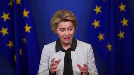 Ursula von der Leyen, Präsidentin der Europäischen Kommission, will mithilfe eines Wiederaufbau-Fonds die Solidarität in Europa stärken.