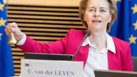 EU-Kommissionspräsidentin Ursula von der Leyen hat sich bei ihrem Konzept eng an dem Vorschlag Deutschlands und Frankreichs orientiert - geht aber deutlich darüber hinaus.