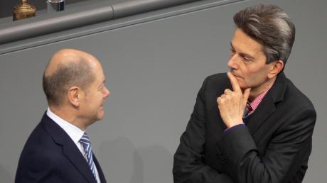 Olaf Scholz und Rolf Mützenich – entscheidet sich zwischen ihnen die K-Frage der SPD?